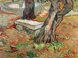 The Bench at Saint-Remy, c.1889 by Vincent van Gogh