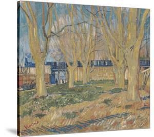 The Blue Train, 1888 by Vincent van Gogh