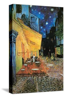 The Café Terrace on the Place du Forum, Arles, at Night, c.1888 (detail) by Vincent van Gogh