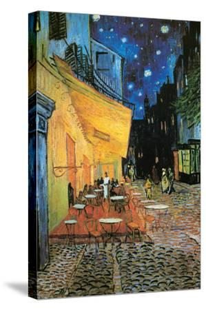 The Café Terrace on the Place du Forum, Arles, at Night, c.1888 (detail) by Vincent van Gogh
