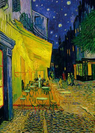 The Café Terrace On The Place Du Forum, Arles by Vincent van Gogh