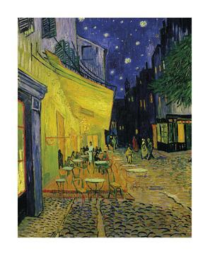 The Cafe Terrace On The Place Du Forum, Arles by Vincent van Gogh