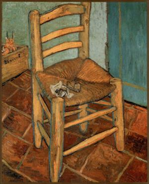Vincent Van Gogh The Chair Art Print POSTER vangogh