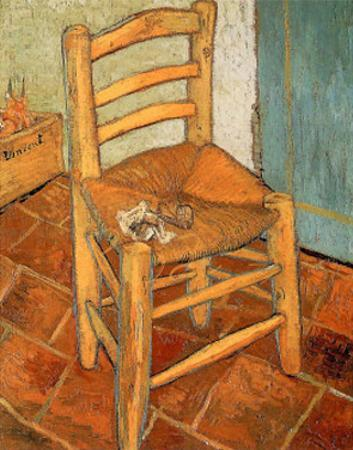 The Chair, c.1888 by Vincent van Gogh