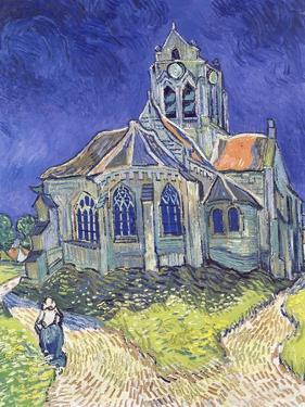 The Church at Auvers-Sur-Oise, 1890 by Vincent van Gogh