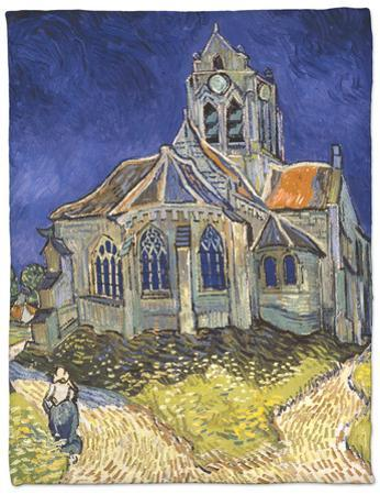 The Church in Auvers-Sur-Oise, c.1890