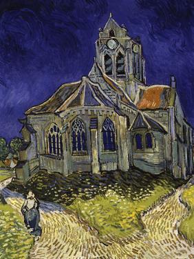 The Church in Auvers-Sur-Oise, c.1890 by Vincent van Gogh