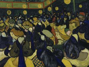 The Dancehall, c.1888 by Vincent van Gogh
