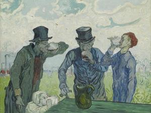 The Drinkers, 1890 by Vincent van Gogh