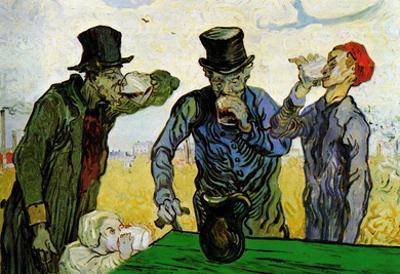 Vincent Van Gogh The Drinkers Art Print Poster