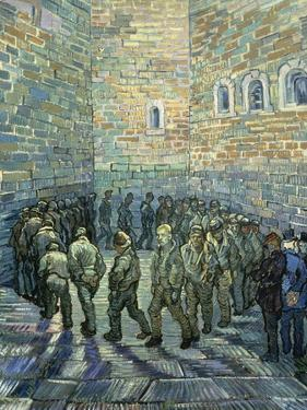 The Exercise Yard, 1890 by Vincent van Gogh