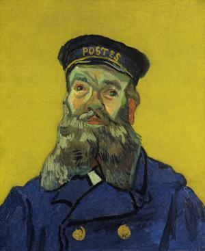The Father, Joseph Roulin by Vincent van Gogh