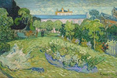 The Garden of Daubigny, 1890 by Vincent van Gogh