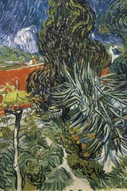 The Garden of Doctor Gachet at Auvers-Sur-Oise (Le Jardin Du Docteur by Vincent van Gogh