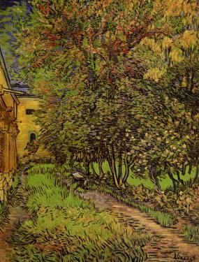The Garden of Saint-Paul Hospital by Vincent van Gogh