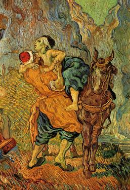 Vincent Van Gogh (The Good Samaritan (after Delacroix)) Art Poster Print