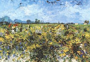 The Green Vineyard by Vincent van Gogh