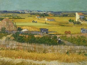 The Harvest, 1888 by Vincent van Gogh