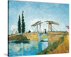 The Langlois Bridge by Vincent van Gogh