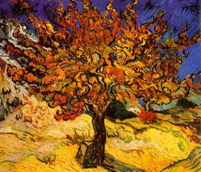 The Mulberry Tree, c. 1889 by Vincent van Gogh