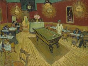 The Night Cafe, 1888 by Vincent van Gogh
