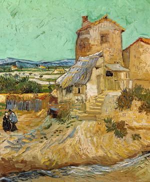 The Old Mill, c.1888 by Vincent van Gogh
