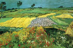 The Plains at Auvers by Vincent van Gogh