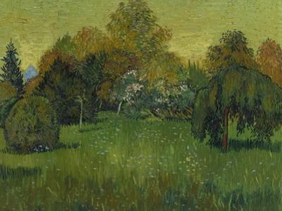 The Poet's Garden, 1888 by Vincent van Gogh