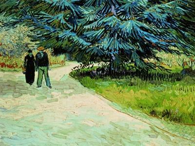 The Poet's Garden, Arles 1888
