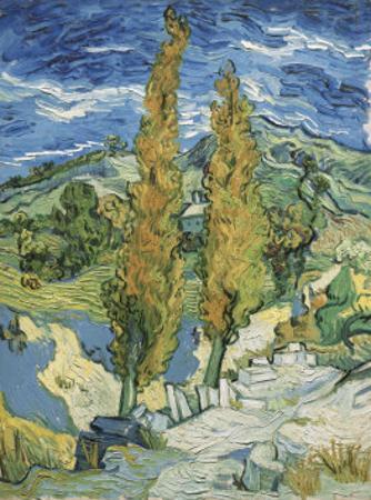 The Poplars at Saint-Remy, c.1889