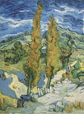 The Poplars at Saint-Remy, c.1889 by Vincent van Gogh