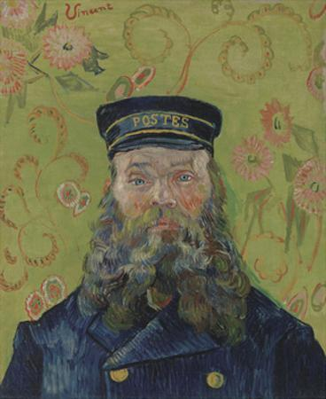 The Postman (Joseph-Etienne Roulin), 1889 by Vincent van Gogh