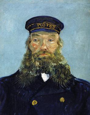 The Postman: Joseph Roulin by Vincent van Gogh