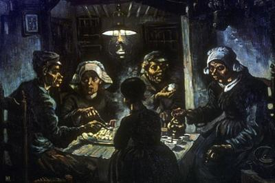 The Potato Eaters, 1885