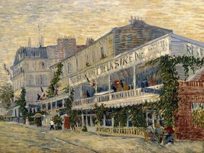 The Restaurant de la Sirene in Asnieres, c.1887