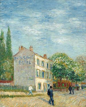 The Restaurant Rispal in Asnières, 1887 by Vincent van Gogh