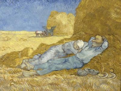 The Siesta (After Mille), 1890 by Vincent van Gogh