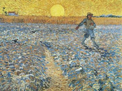 The Sower, 1888 by Vincent van Gogh
