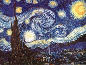 Vincent Van Gogh The Starry Night Art Print Poster