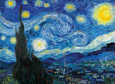 The Starry Night - Saint-Rémy-de-Provence, France by Vincent van Gogh