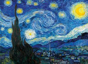 The Starry Night - Saint-Rémy-de-Provence, France by Vincent van Gogh