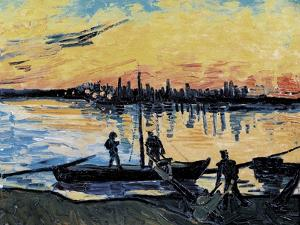 The Stevedores in Arles by Vincent van Gogh