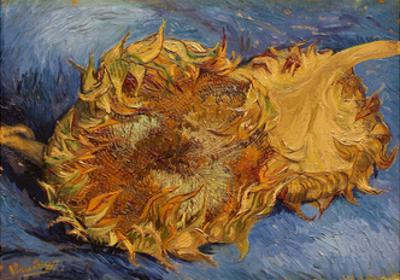 The Sunflowers, 1887 by Vincent van Gogh