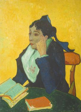 The Woman from Arles (L'Arle´sienne) - Madame Marie Julien Ginoux by Vincent van Gogh