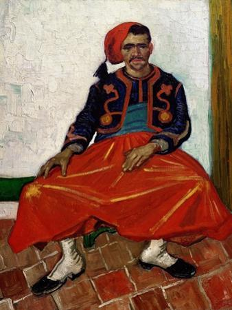 The Zouave, 1888 by Vincent van Gogh