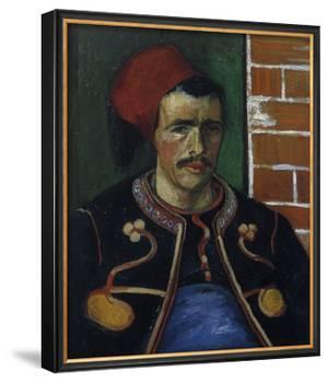 The Zouave, Bust by Vincent van Gogh