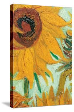 Twelve Sunflowers (detail) by Vincent van Gogh
