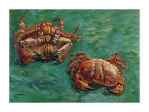 Two Crabs, 1889 by Vincent Van Gogh