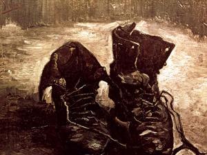 Van Gogh: Boots, 1886 by Vincent van Gogh
