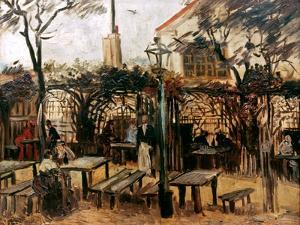 Van Gogh: Guingette, 1886 by Vincent van Gogh